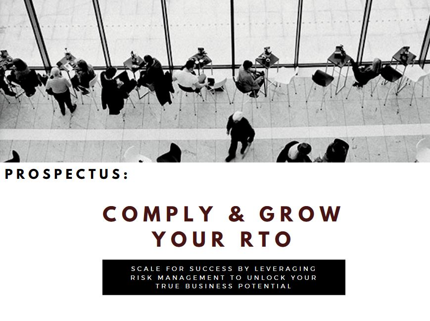 Comply & Grow Your RTO Prospectus