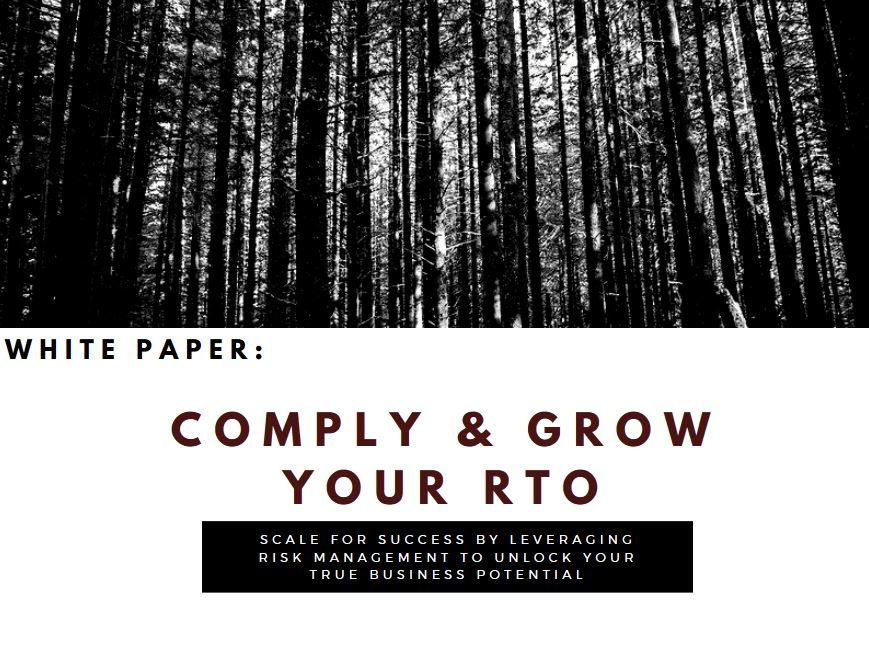Comply & Grow Your RTO White Paper