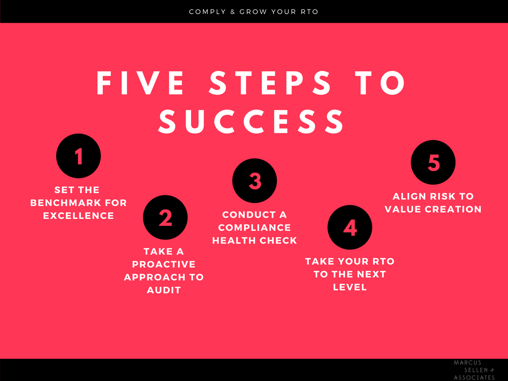 Five Steps To Success Archives Rto Advance